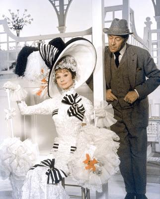 Audrey Hepburn in Ascot Dress